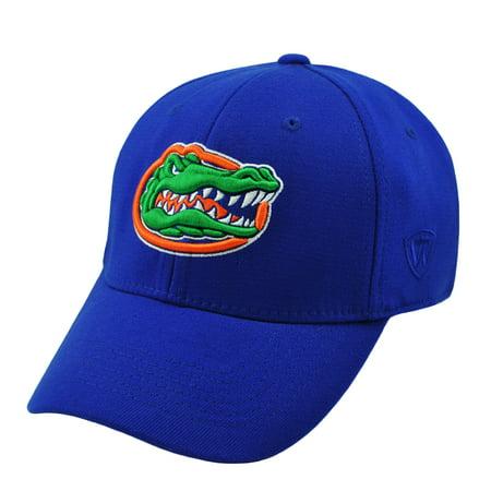 top of the world men's florida gators blue premium collection m-fit hat