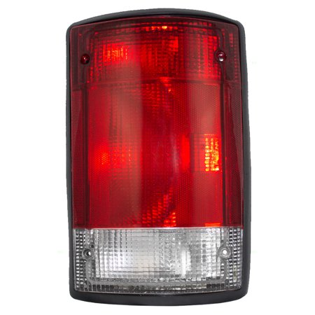 Passengers Taillight Tail Lamp Replacement for Ford Van SUV F5UZ13404A ()