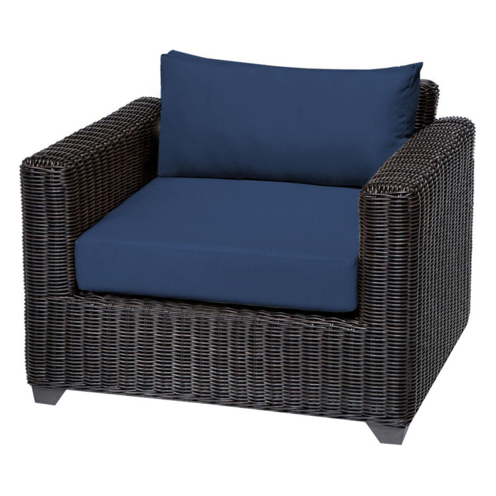 TK Classics Venice Wicker Outdoor Club Chair