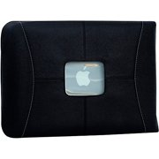 MacCase L15SL-BK 16 in. Premium Leather MacBook Pro Sleeve - Black
