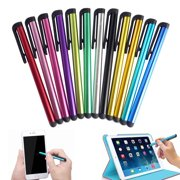 100Pcs Universal Metal Capacitive Stylus Touch Screen Stylus Pen For iPhone iPad Samsung Tablet