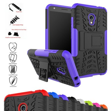 the latest 0d1a5 d3355 Pixi 4 (5) 4G 5045I Case, Shockproof Heavy Duty Combo Hybrid Rugged ...