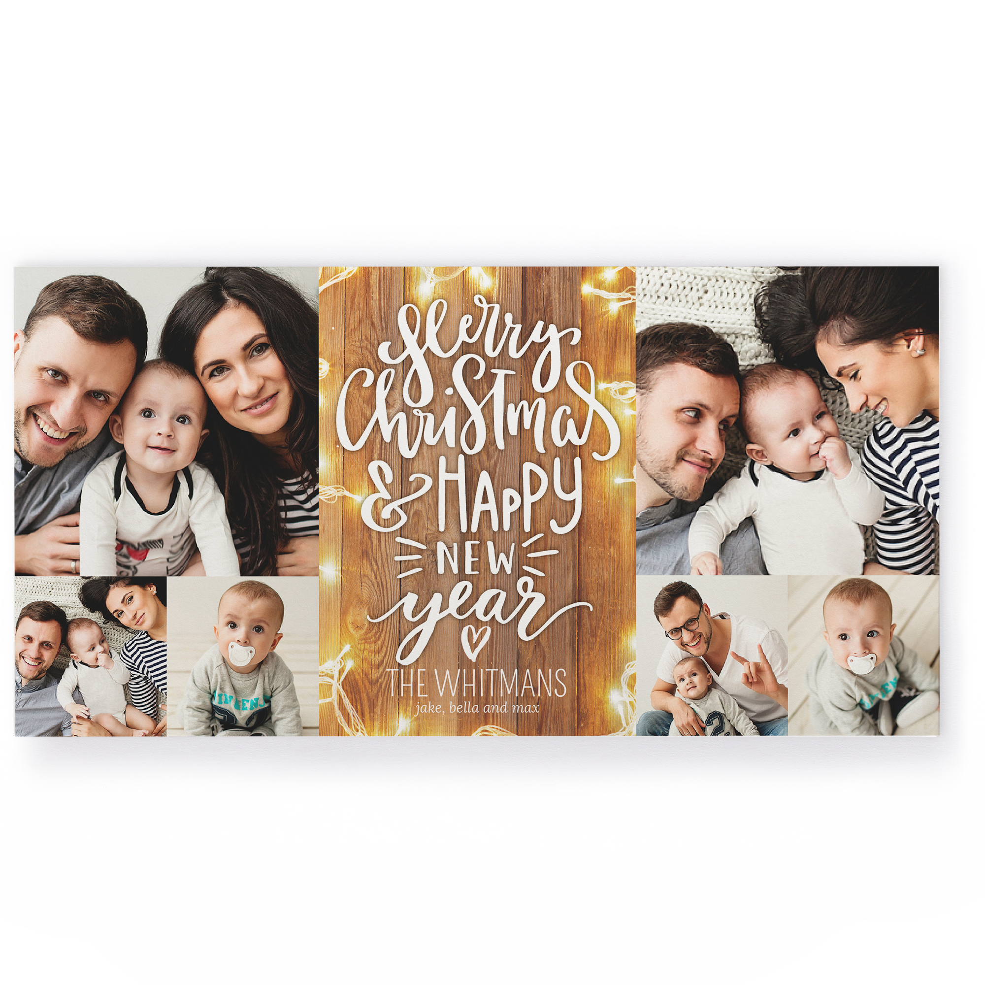 4x8 Photo Collage Photo Card