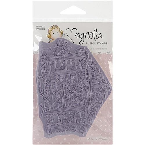"Nativity Cling Stamp 4""X6.5"" Package-Holy House"