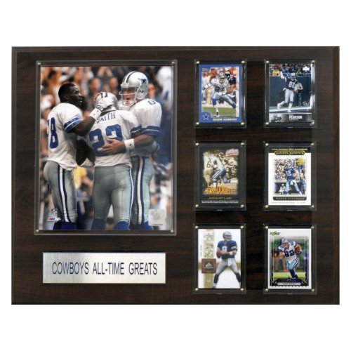 "NFL Dallas Cowboys All-Time Greats Player Plaque, 16"" x 20"""