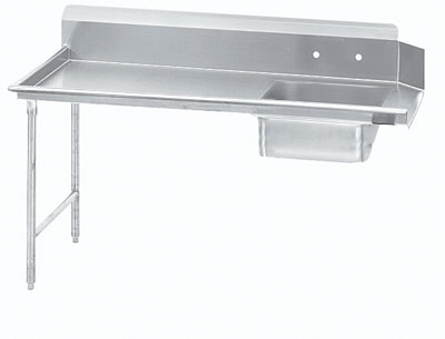 Advance Tabco 36 Straight-Soil Dish Table (Right To Left) Dts-S70-36R by Advance Tabco