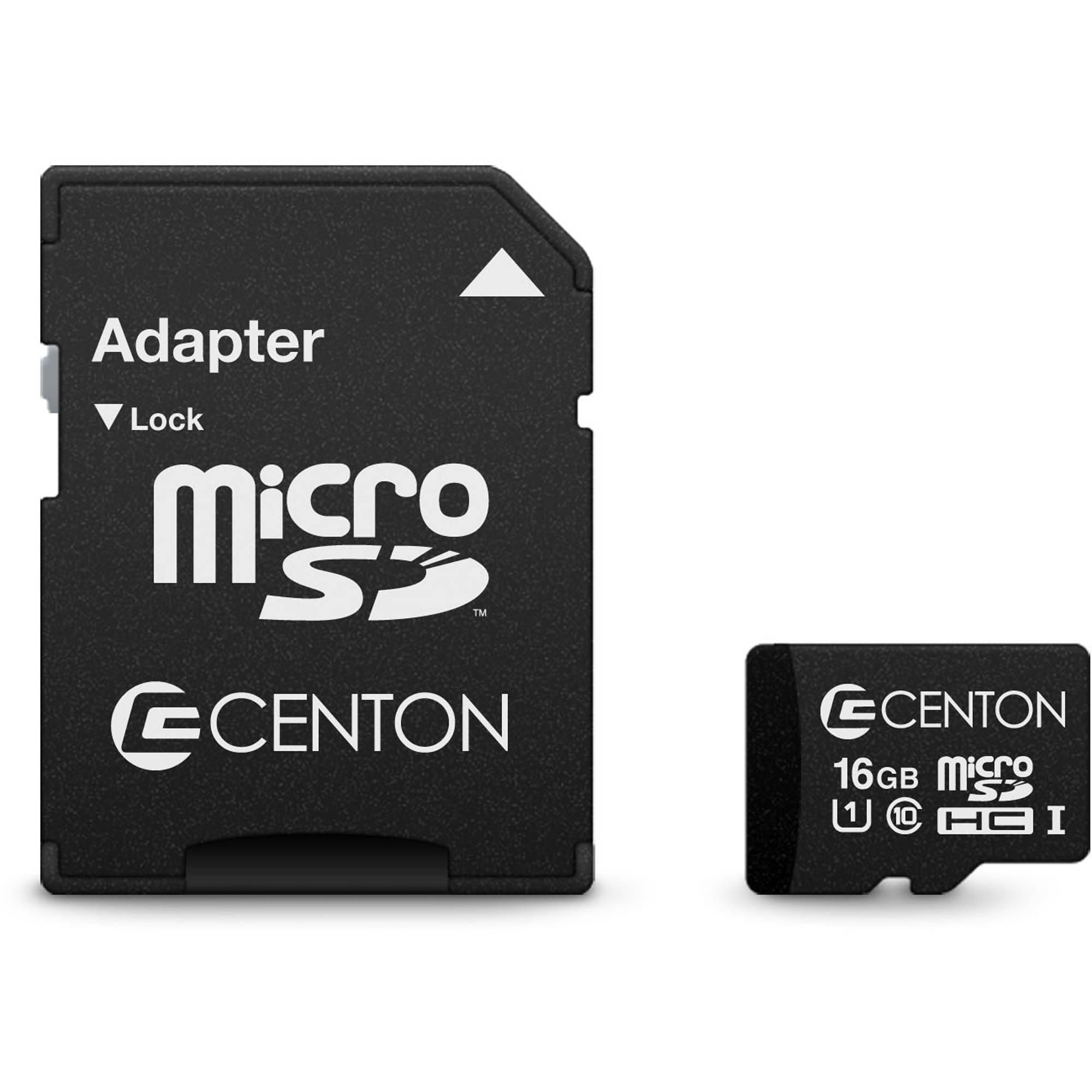 Centon 16GB Class 10 UHS-I microSD Card