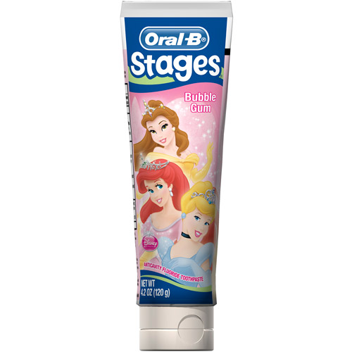 Crest Pro-Health Stages Disney Princess Kid's Toothpaste, 4.2 oz