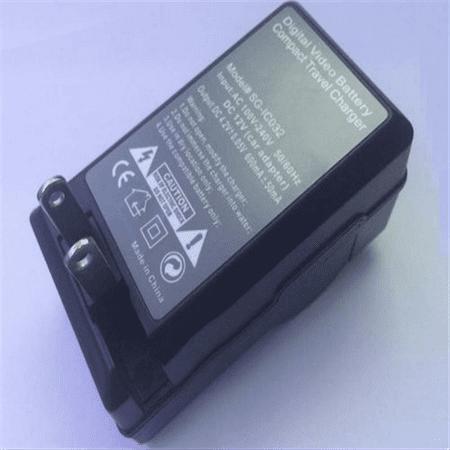 951d45570c9c Portable AC SB-LSM80 Battery Charger for SAMSUNG VP-D371 DC165W VP-DC171  VP-DC171W Mini DV - Walmart.com