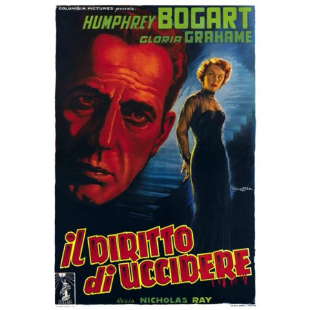 In A Lonely Place Movie 11inx17in Mini Poster Italian ships in mail/gift (Best Places To Shop In Italy)