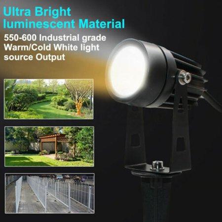 12V LED waterproof Outdoor Garden Spotlights landscape light Lamp - image 8 de 10