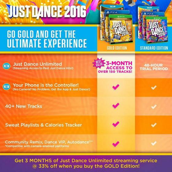 Just Dance 2016 Ubisoft Playstation 4 887256013981 Walmart