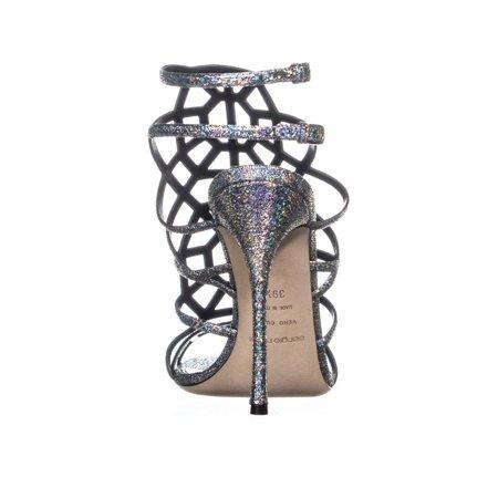 Sandales Pour Femmes Sergio Rossi A63130, Grise - image 4 de 6