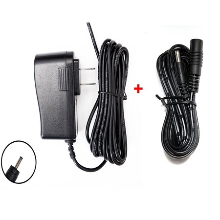 OMNIHIL 8FT AC/DC Adapter and 10FT Extension Cord for Samsung SEW-3037W, SEW-3036W, SEW-3037W 3037, SEW-3038, SEW-3038W, SEW-3040 SEW-3040W, SEW-3020WN LED Monitor &