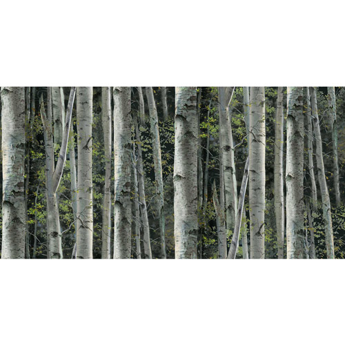 Wild Wings Reluctant Companion Packed Birch Fabric By The Yard