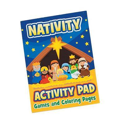 IN-13664703 Nativity Activity Books with Stickers - Nativity Stickers