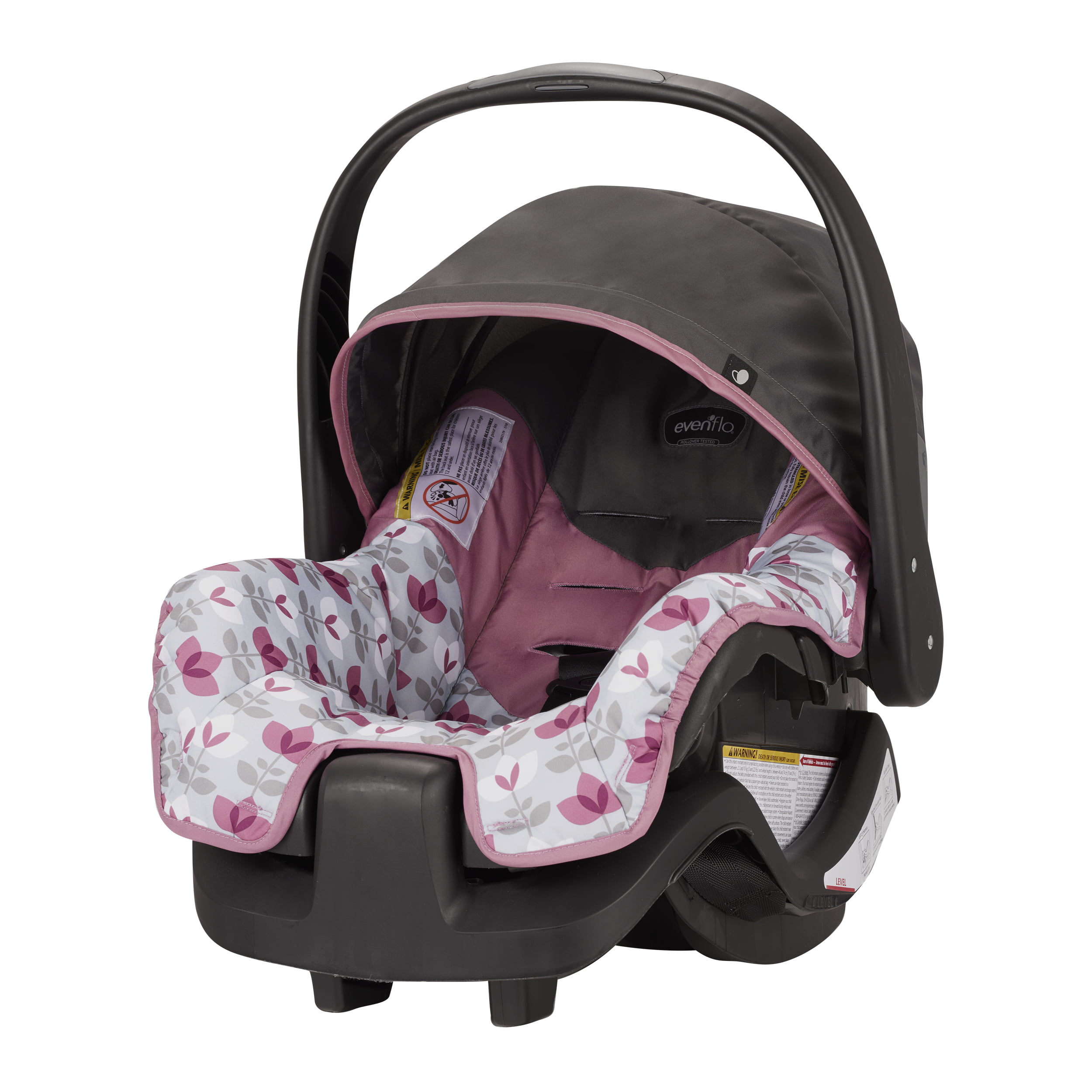 Enjoyable Evenflo Nurture Infant Car Seat Max Walmart Com Creativecarmelina Interior Chair Design Creativecarmelinacom