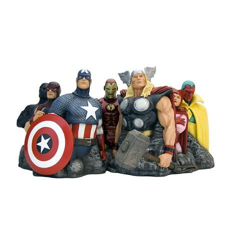 Found Art Sculpture (Alex Ross Marvel Comics Avengers Assemble Fine Art Sculpture )
