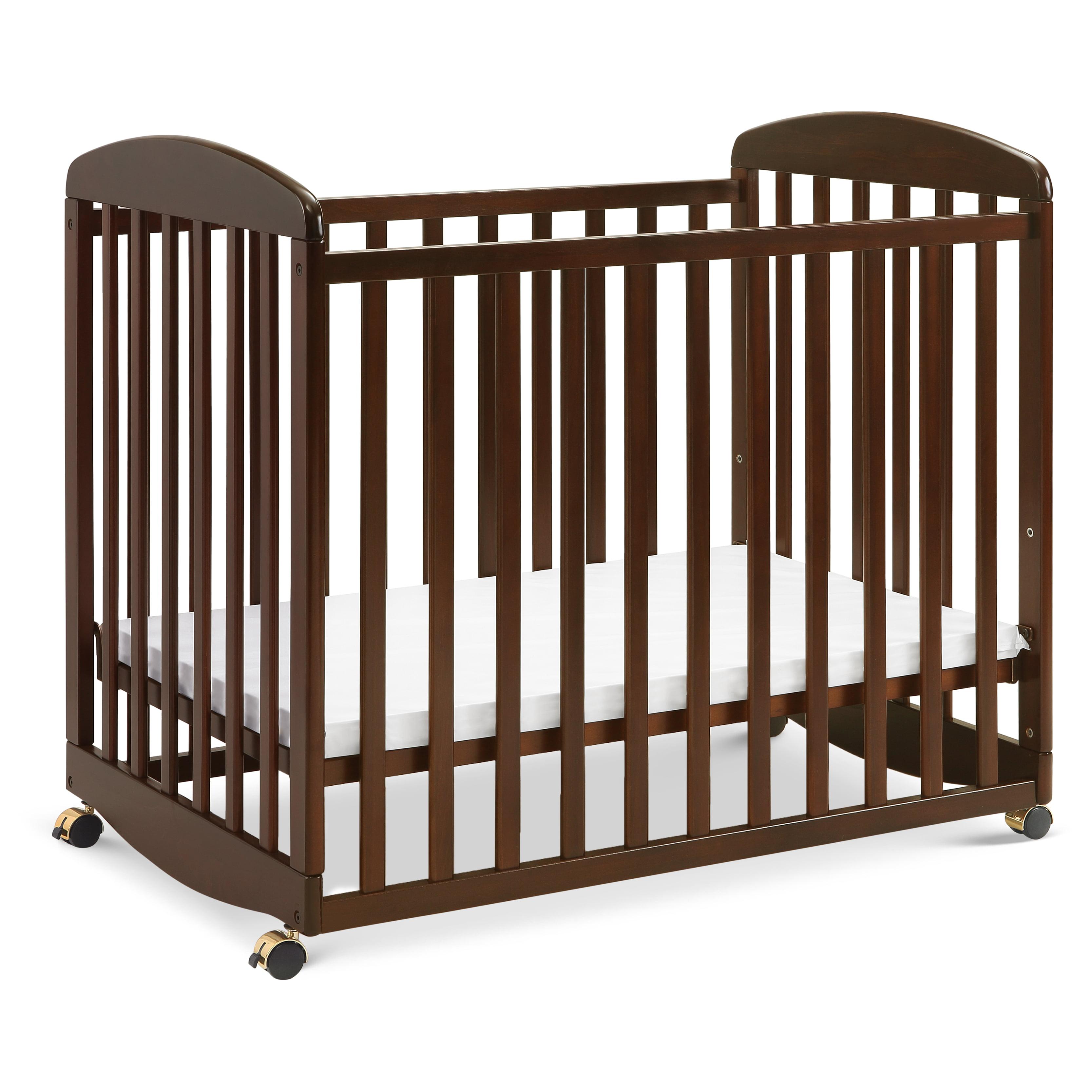Davinci Alpha Mini Rocking Crib In Espresso Finish Walmart Com