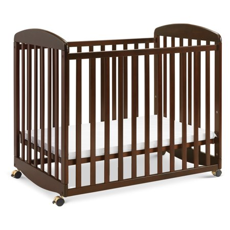 DaVinci Alpha Mini Rocking Crib in Espresso Finish Da Vinci Emily Baby Furniture
