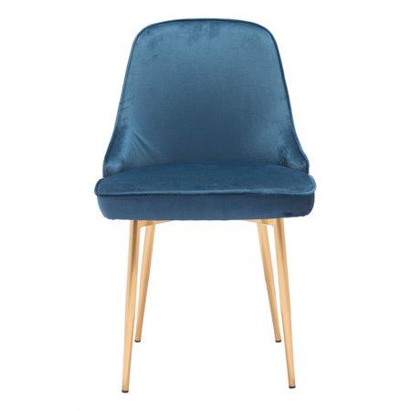 Merritt Dining Chair Navy Velvet ()