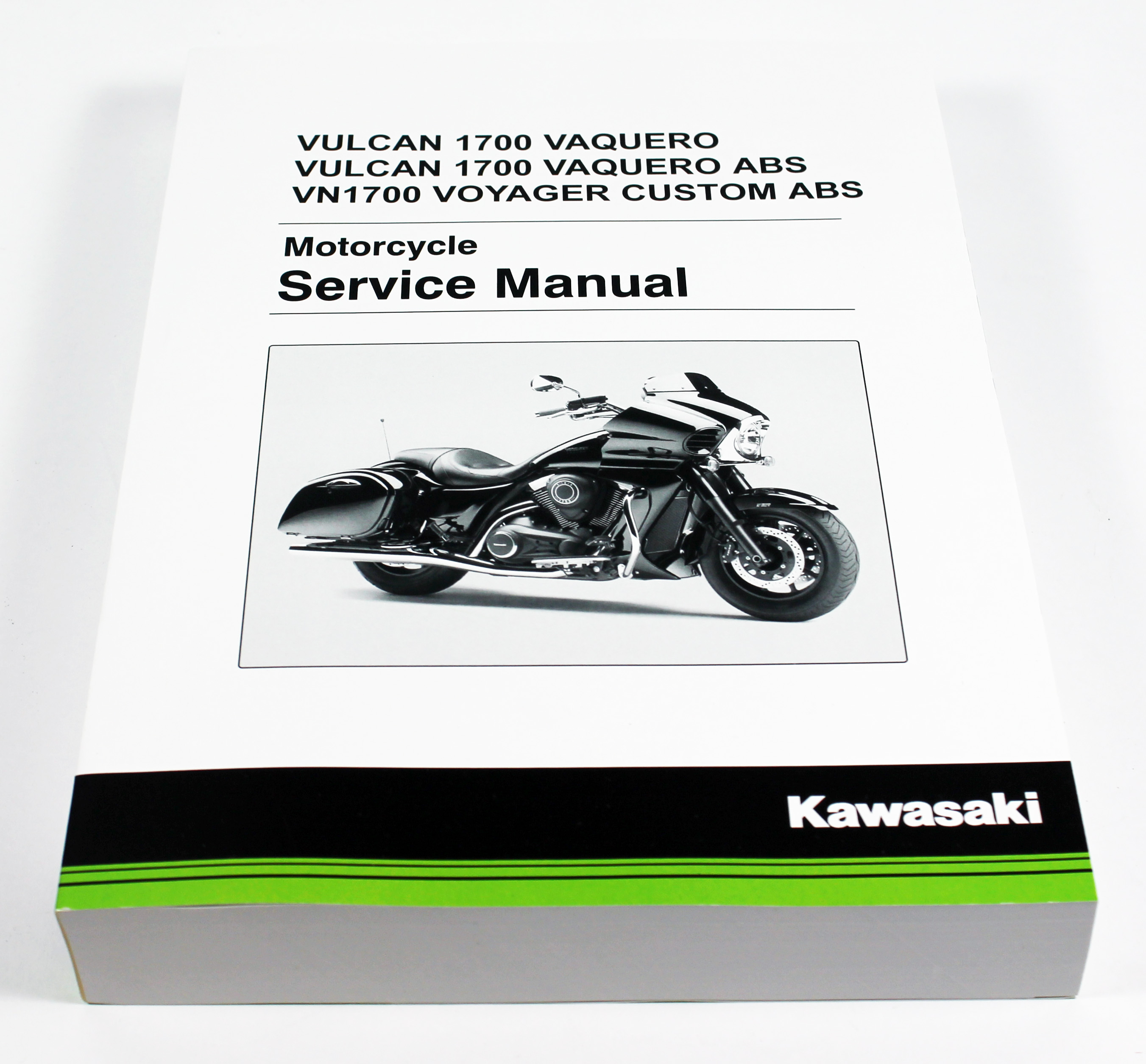 Kawasaki 2011-2018 Vulcan 1700 Vaquero Vulcan 1700 Vaquero Abs Vn1700  Service Manual 99924-1444-08 New Oem - Walmart.com
