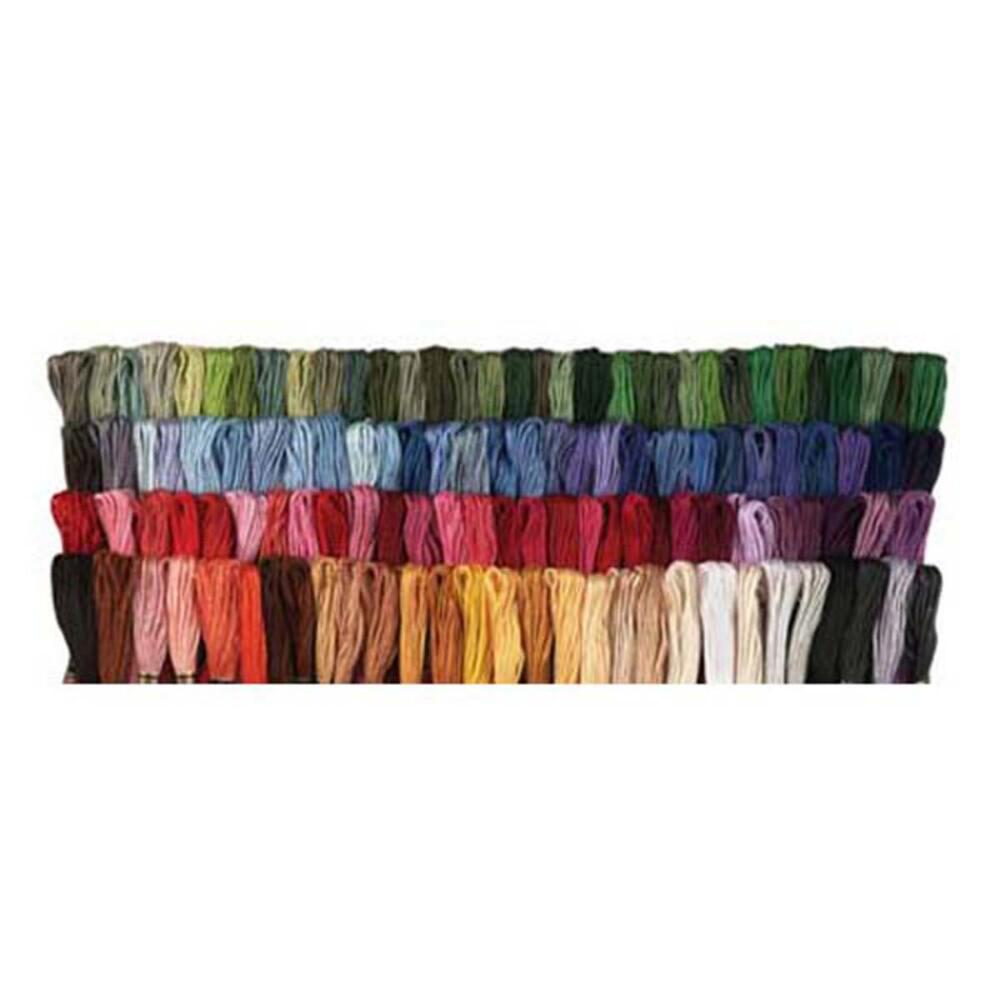 Craftways Value Pack100 Skeins Embroidery Floss  Walmart