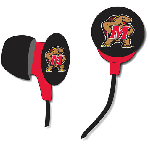 Logo Earbuds - Maryland Terrapins Maryland Terrapins HPCMAREB