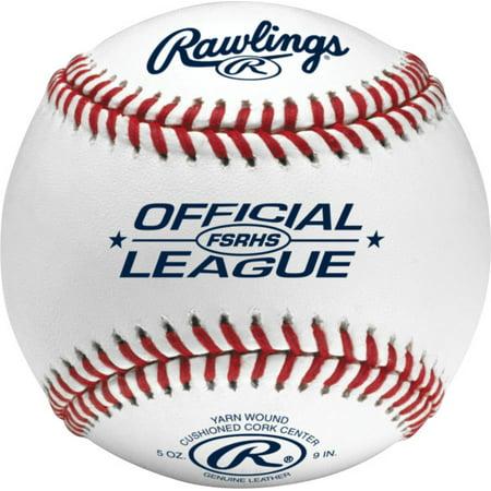 Rawlings Flat Seam Cushioned Cork Center Baseballs