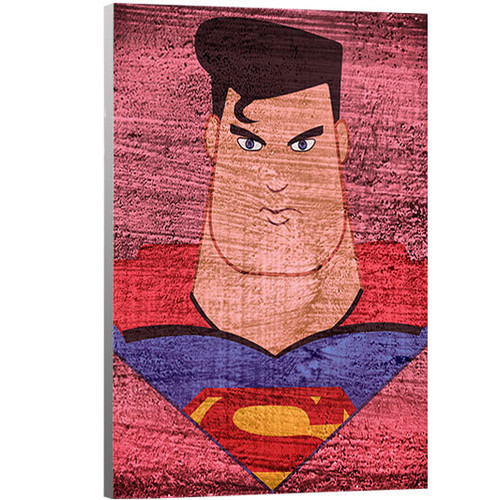 Artzee Designs Marvel Inspired Superman Canvas Art