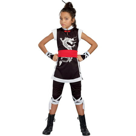 kung fu cutie teen girls halloween costume extra large - Teen Halloween Outfits