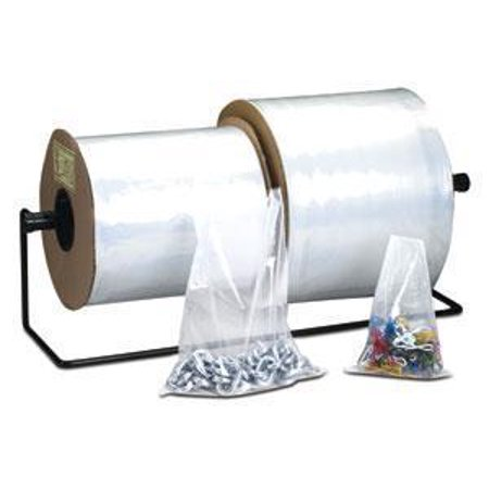 Laddawn Poly Tubing, 4 Mil, 14In X 1350Ft, Clear, 1 Roll (Clear Poly Tubing)