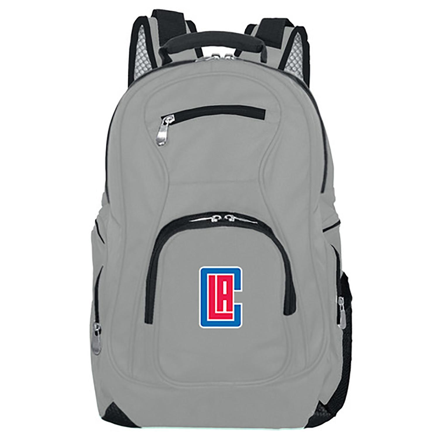 NBA LA Clippers Gray Premium Laptop Backpack