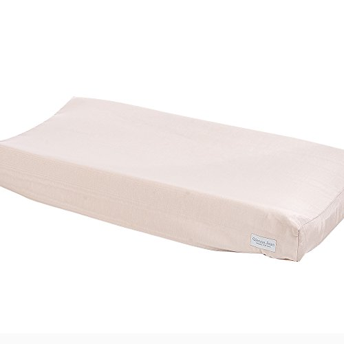 Glenna Jean Ava Pink Moire Changing Pad Cover