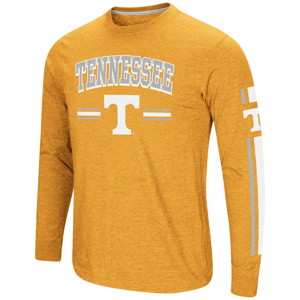 Tennessee Volunteers Vols UT Men's Long Sleeve Touchdown Pass Tee