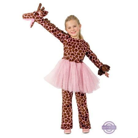Girls Playful Puppet Giraffe Costume - Mens Giraffe Costume