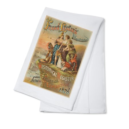 - Frank Leslie's Illustrated Historical register of the Centennial ExpositionPoster USA c. 1876 (100% Cotton Kitchen Towel)
