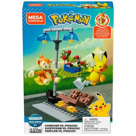Mega Construx Pokemon Battle Pack - Chimchar vs.