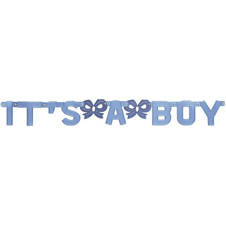 It's A Boy Jointed Banner