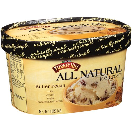 Turkey Hill Butter Pecan All Natural Ice Cream, 48 fl oz