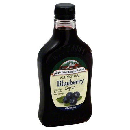 - (2 Pack) Maple Grove Farms of Vermont® Blueberry Syrup 8.5 fl. oz. Bottle