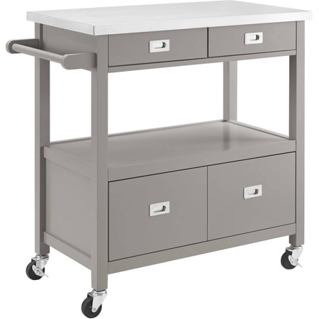 ip ktaxon portable trolley island baskets cart with storage stand drawers drawer rolling kitchen