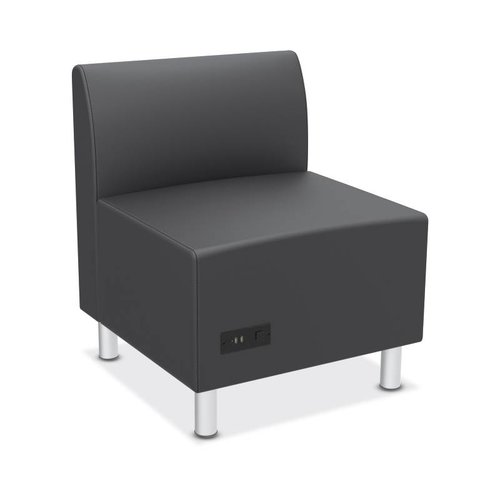 HON Lounge Chair HVL895.ES19 / HVL895.SB11 Upholstery: Charcoal