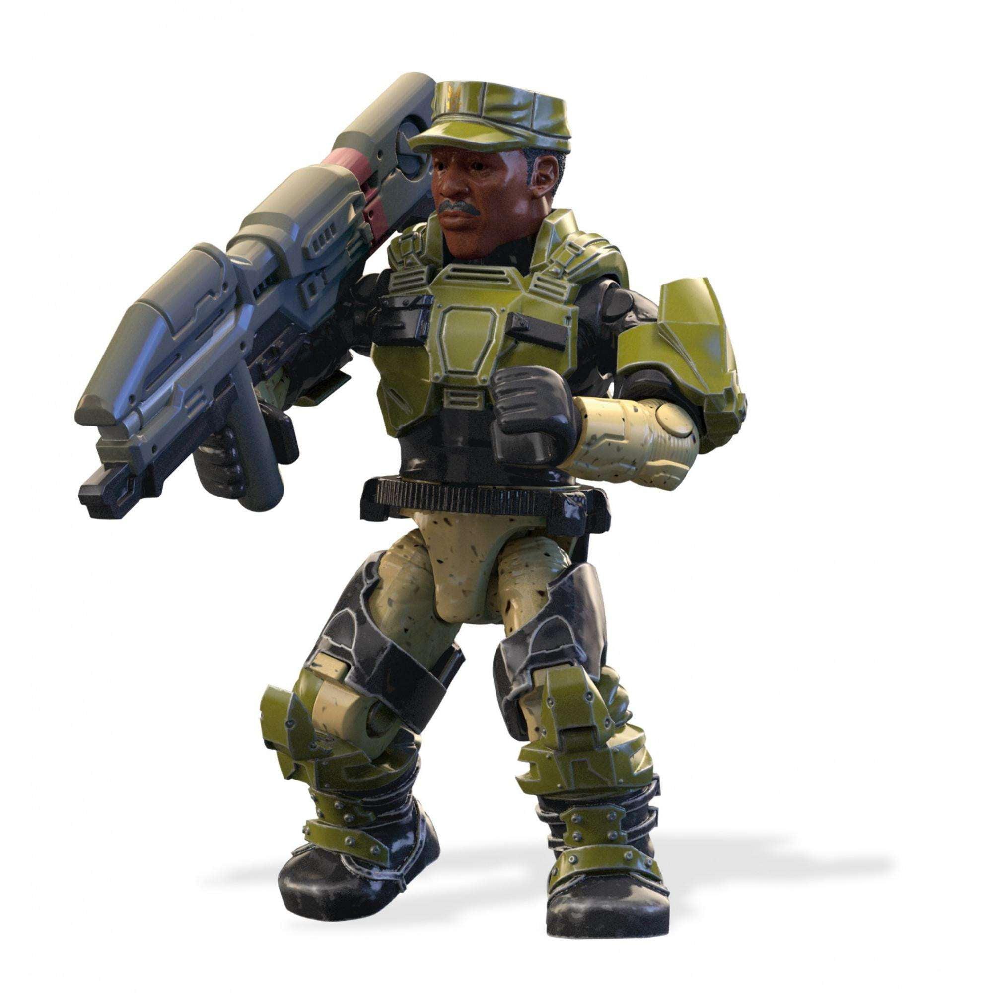 Games Halo Sgt Sargent Sergeant Johnson Funko Pop