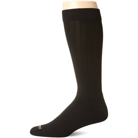 Dress Over Calf Socks, Black, Large, Active Odor Control By Drymax