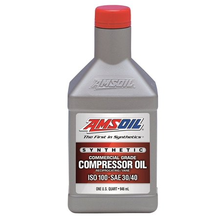 1 Quart Qt. Amsoil Synthetic Air Compressor Oil ISO-100 Commercial Grade 946