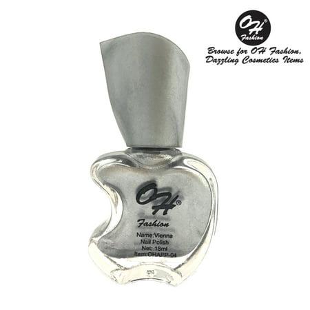 (4 Pack) OH FASHION Nail Polish Apple Bottle Vienna, manicure, beauty, nails 1