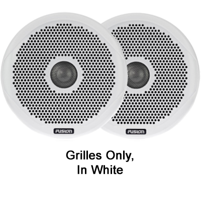 Fusion 010-01645-00 Pair of White Grilles, 4
