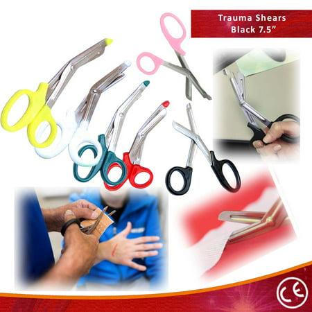 """Bdeals 7.5"""" FirstAid Rescue EMT/EMS Trauma Shears Utility Scissors 1pc"""
