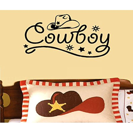Decal ~ Cowboy ~ WALL DECAL, HOME DECOR 13